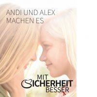 """Motiv 8 zeigt zwei Mädchen im Gegenlicht im Begriff sich zu küssen. """"Andi und Alex machen es"""" (284 kB, JPG-Datei)"""