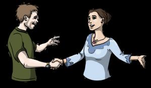 mit-sicherheit-besser-leichte-sprache-mann-und-frau-schütteln-hände