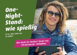 Postkartenmotiv aus der #STIauftour Kampagne