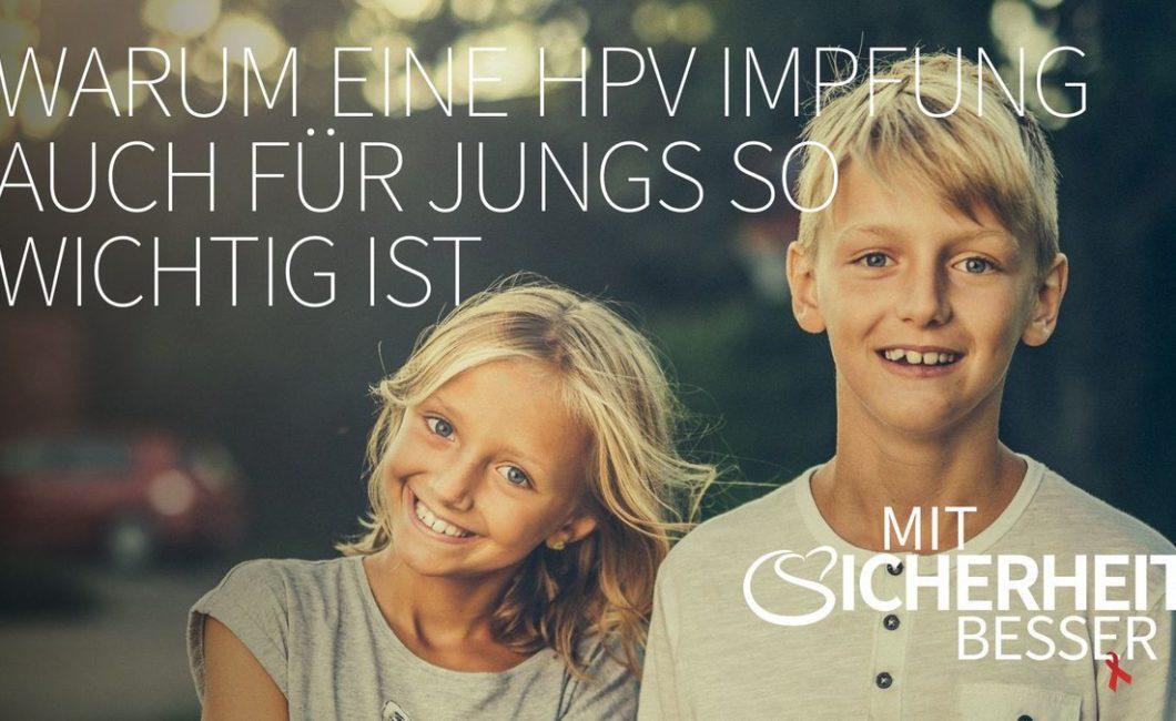 HPPV-Impfung - auch für Jungs